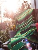 grön enfärgad mexfilt