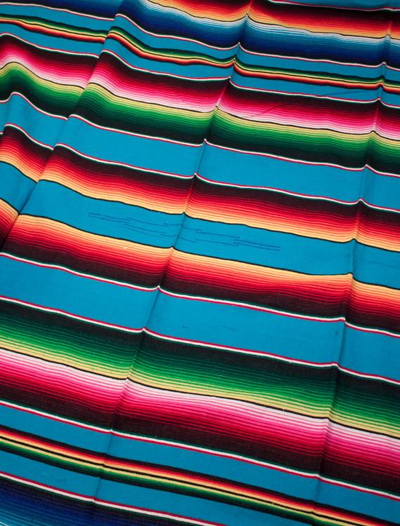 turkos flerfärgad mexfilt