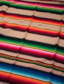 beige flerfärgad mexfilt