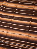 brun enfärgad mexfilt