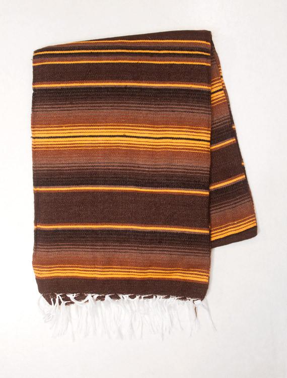 gulbrun enfärgad mexfilt